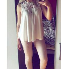 Pimkie bela bluza XS/S RASPRODAJA