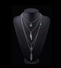 Cetvoroslojna ogrlica