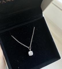 Tisento srebrna ogrlica