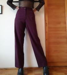 ♡ Bordo poslovne pantalone - vintage ♡