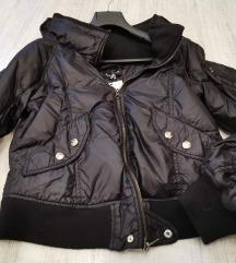 Patrizia Pepe crna suskava jakna ORIGINAL