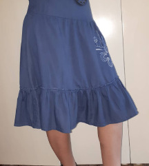 Plava vintage suknja br 36