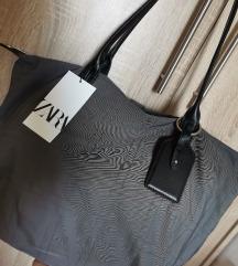 Zara nova shopper torba
