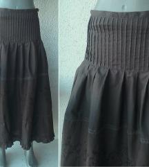 suknja braon u A broj XS Y.O.U