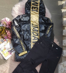 Nova crna jakna vel. M