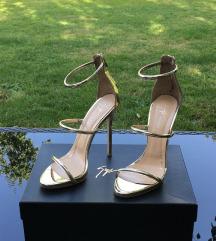 %%%Giuseppe Zanotti gold ORIGINAL sandale