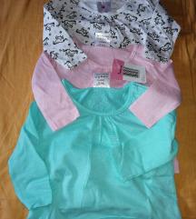 Bluzice nove 62-68