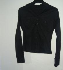 Crna ženska košulja