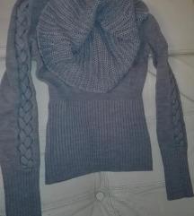 Džemper sa velikom kragnom Clockhouse