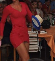 Bershka crvena haljina
