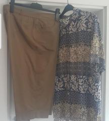 Tricetvrt pantalone i kosulja