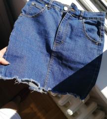 PullBear teksas suknja
