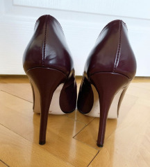 Kožne cipele na štiklu
