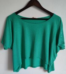 Zara zeleni crop top