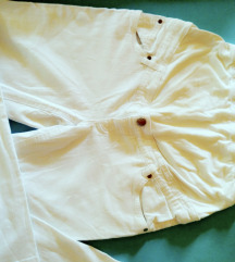 Yessica extra pantalone bele za trudnice