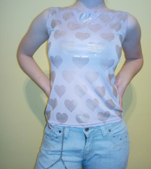 Svetlo ljubičasta majica bez rukava