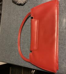 Crvena torba od vestacke koze