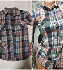 Karirana košuljica vel xS