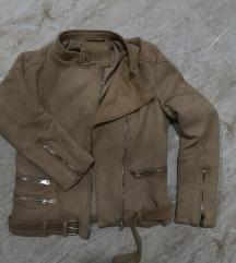 Braon ženska jakna
