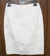 Bela suknja