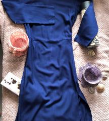BENETTON NOVA teget letnja haljina S