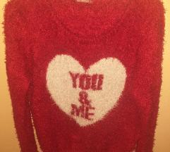 TERRANOVA džemper u boji maline
