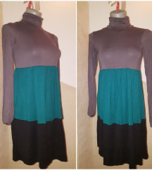 Trobojna haljina