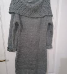 Siva tunika/haljina