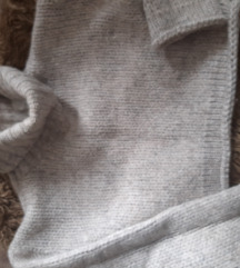 Crop  knite rolka vuna