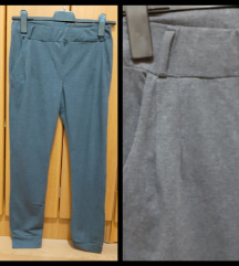 Sive pamucne pantalone