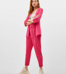 Roze Bershka pantalone