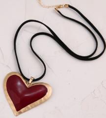 Zara srce ogrlica