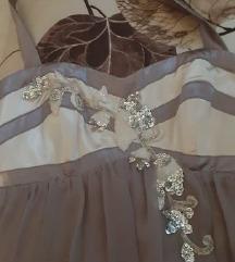Kratka haljina sa cirkonima vel.S  rasprodaja