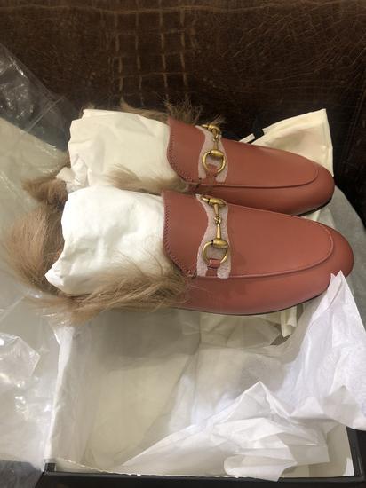 Gucci papuce sa krznom NOVE 36.5