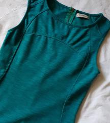 Pull&Bear tirkizna haljina