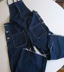 ZARA denim overalls S