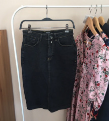 Denim pencil skirt (popust!)
