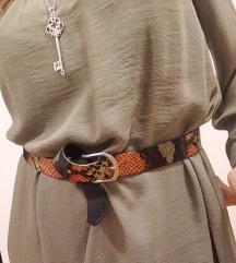 Maslinasto zelena haljina H&M