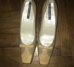 Krem cipele sa masnicom