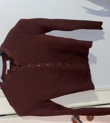 Zara knitwear bluza na dugmice