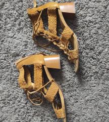 Zara sandale rimljanke od prave koze br 41