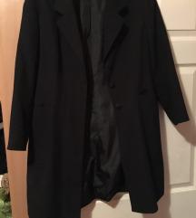 Crni dugački ženski sako