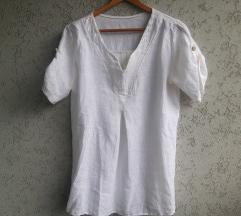 Bela lanena kosulja / majica (italijanska)