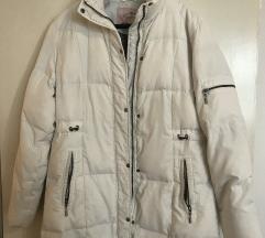Bela zimska jakna