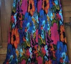 NOVA lux plisirana suknja S/M