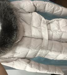 Perjana jakna sa pravim krznom