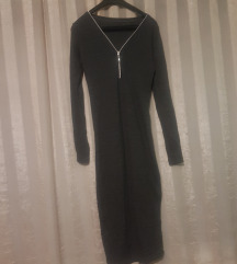 Nova Duza siva haljinica