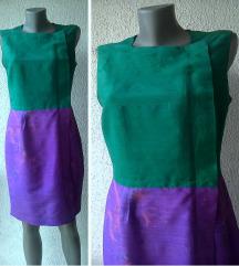 haljina sirova svila broj S ili M