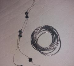 Set narukvica i ogrlica