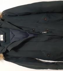 Teget zimska jakna pravo krzno